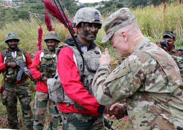 mock drill,Indo-US drill,India US military drill