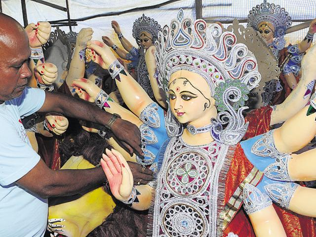 Compared to 2015, artisans in Bhopal have received twice the number of orders for idols this year.