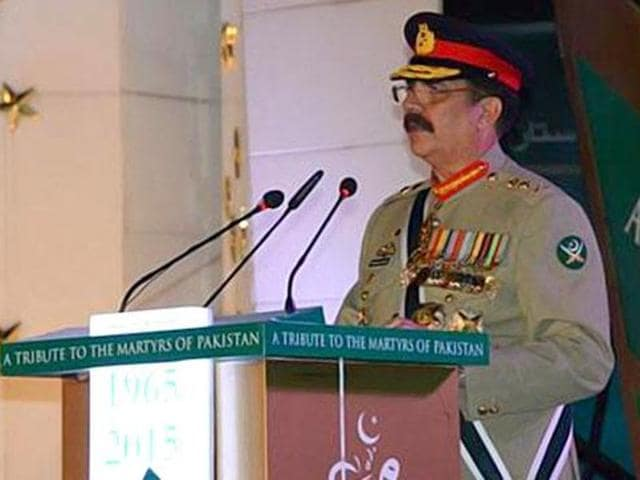 Pakistan Army chief General Raheel Sharif on Monday claimed that India was not serious about resolving 'historical disputes'.