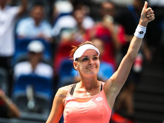 Radwanska could next meet an in-form Caroline Wozniacki.