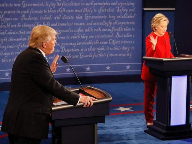 Donald Trump,Hillary Clinton,US Presidential Elections