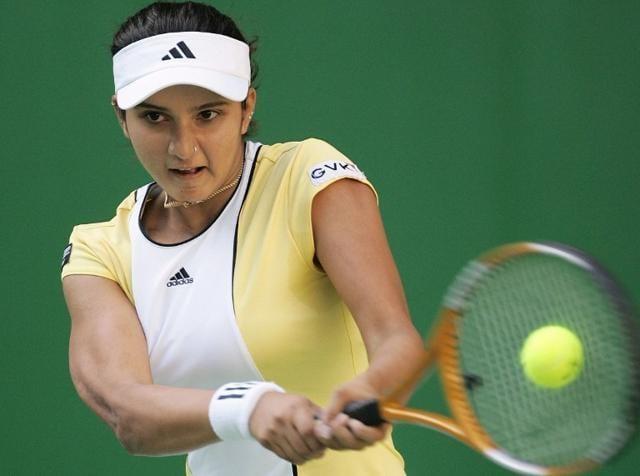 Sania Mirza,Rohan Bopanna,Martina Hingis