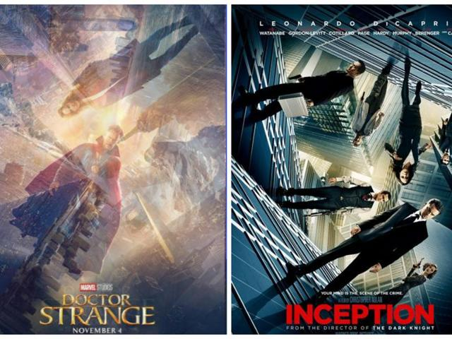 Nolan's Inception (R) and Doctor Strange (L). Notice anything?