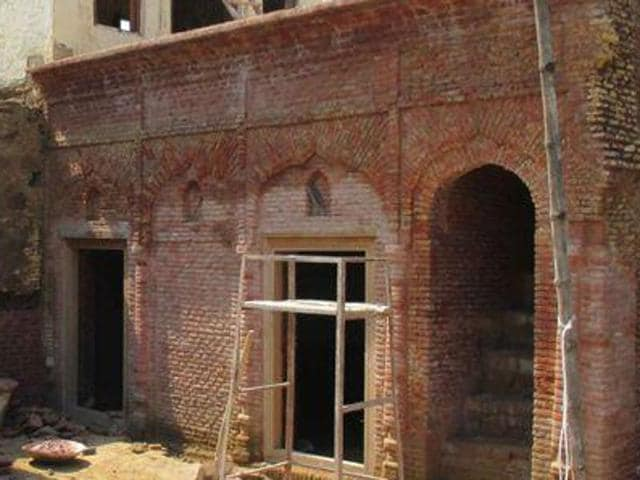 Martyr Bhagat Singh's ancestral home was renovated by the government last year at Khatkarh Kalan village in Nawanshahr.
