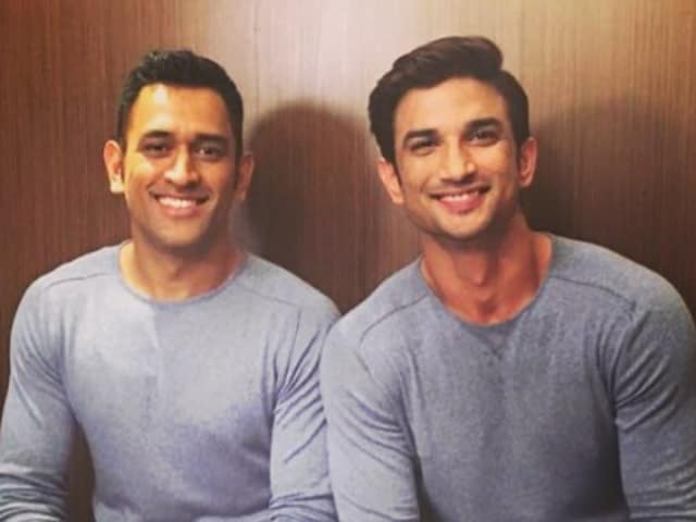 Sushant Singh Rajput is playing Dhoni in MSDhoni: The Untold Story.