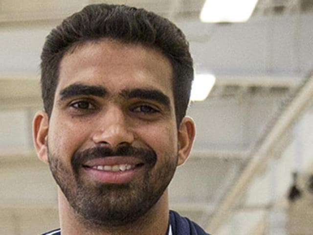 Palpreet Singh Brar (21), winner of the national finals of ACG-NBA Jump — India's first national basketball talent search programme — will now become eligible for selection in the NBA D League Draft to be held on October 25.(Photo: BFI)
