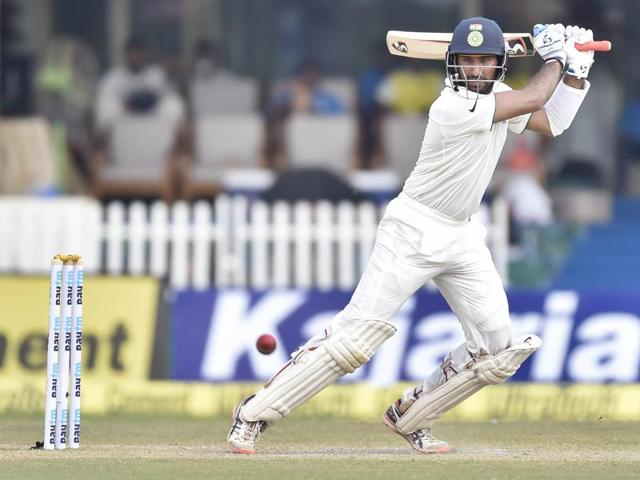 Cheteshwar Pujara scored 62 and 78 in the first Test against New Zealand in Kanpur.