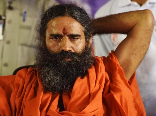 Baba Ramdev will give stress-busting tips to the aspiring young singers on The Voice India Kids.(AFP)