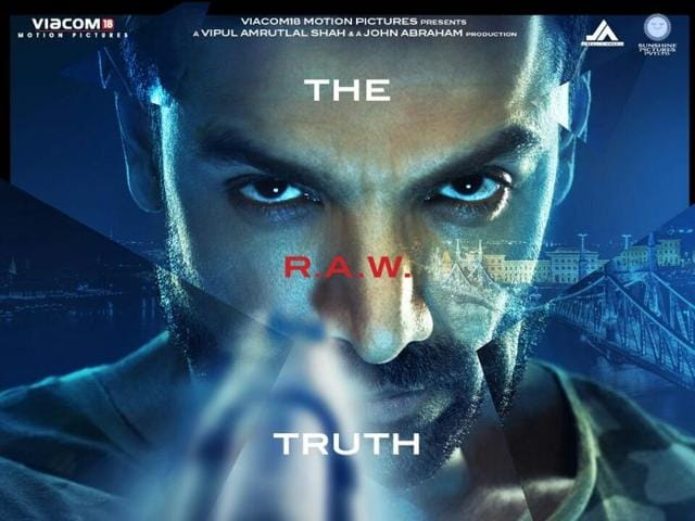 John Abraham on the first poster of Force 2.