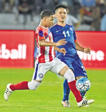 The Andheri Sports Complex hosted the India vs Puerto Rico match earlier this month.