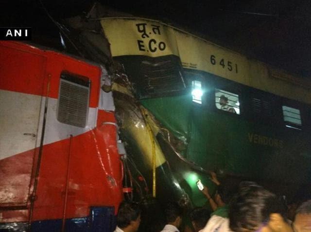 Train collision,Odisha,Cuttack