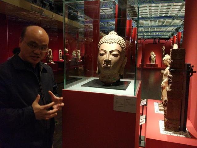 Beijing exhibition,Luo Wenhua,Forbidden City in Beijing