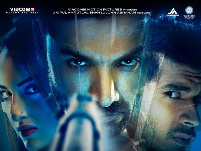 Sonakshi Sinha and John Abraham pplay lead roles in Foorce 2 while Tahir Raj Bhasin plays the villain.