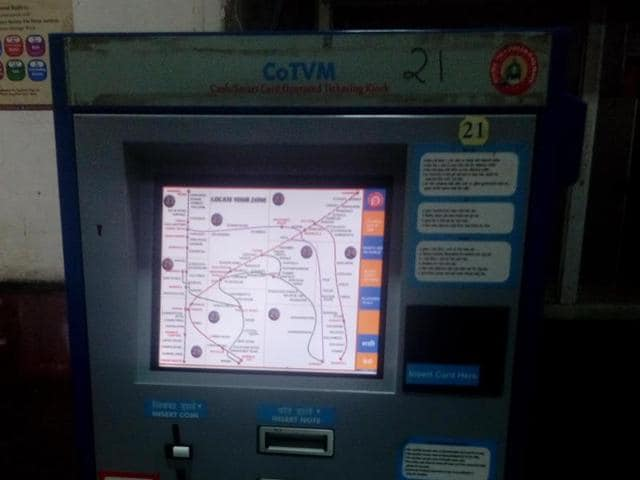 CoTVM,Cash ticket vending machines,railway ticket vending machines