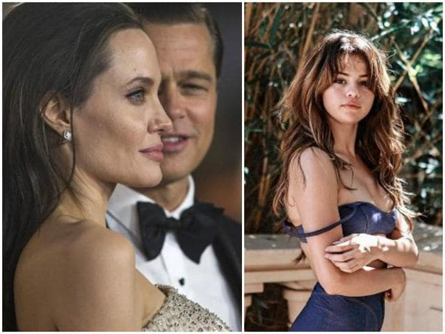 According to reports, Angelina Jolie found pictures of several women including pop singer and actor Selena Gomez on Brad Pitt's phone.