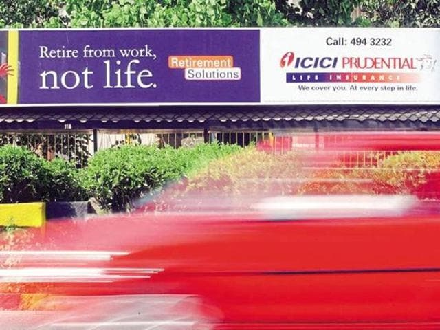 ICICI Prudential Life Insurance made a disappointing debut on the stock exchanges, today.
