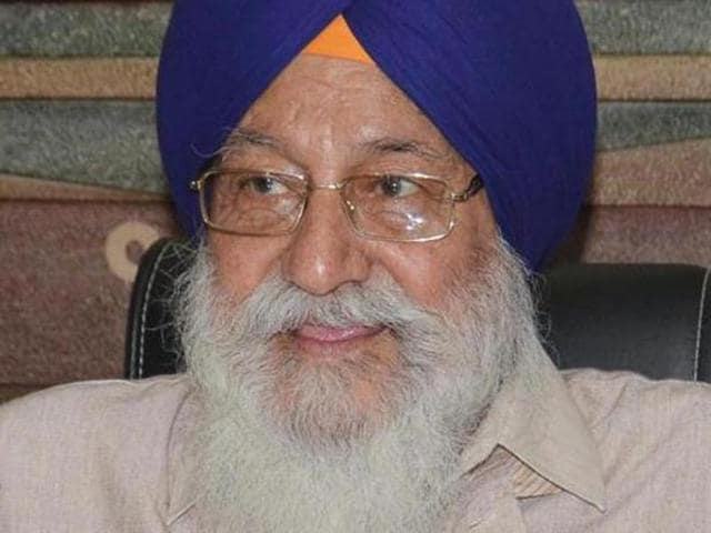 """SGPC president Avtar Singh Makkar said: """"Many Sikhs are influenced by radicals but we don't need to be afraid of them."""""""