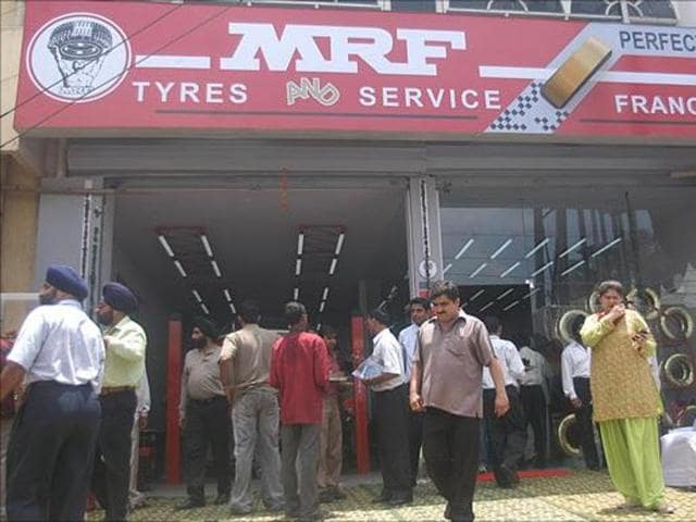An investor who had put money in MRF shares then, would have gained over 10,000% according to Wednesday's closing price.(Livemint)