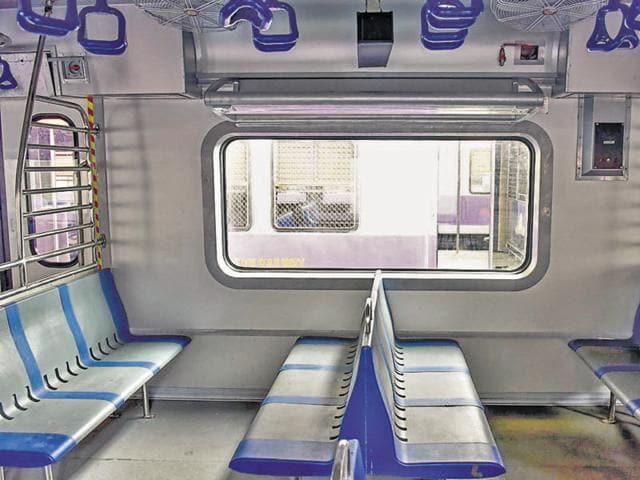 AC train,Central Railway,Railways