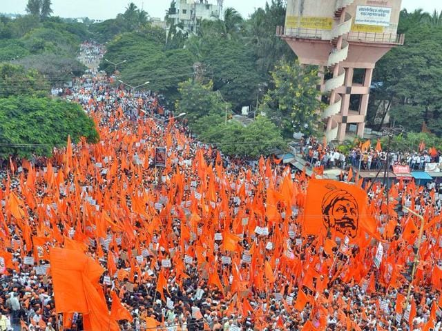 Marathas recently held silent protests across Maharashtra.