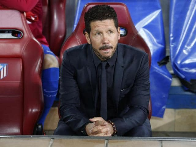Simeone's men also beat Bayern at home in April on their way to a second Champions League final in three years.