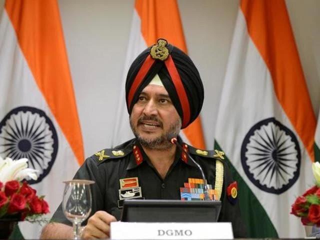 India's surgical strikes,DGMO Lt Gen Ranbir Singh,DGMO