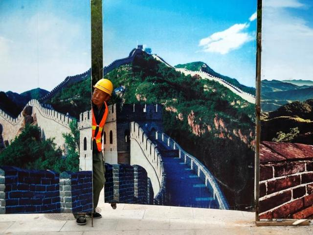 Great Wall of China,world's deepest and largest high-speed railway station,Badaling
