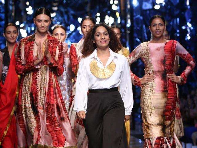 Masaba Gupta is all set to showcase her latest collection at a Delhi fashion show after a break of two years.