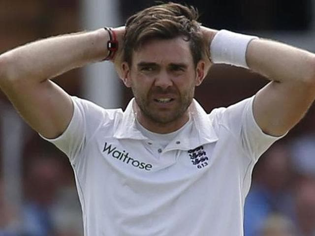 Anderson had also sustained a stress fracture during the home series against Sri Lanka in June.(AFP)