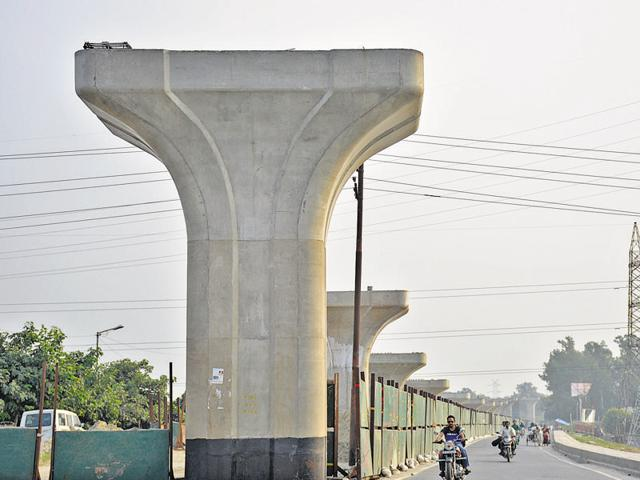 The 10.3-km elevated road project is intended to connect UP Gate to Raj Nagar Extension.
