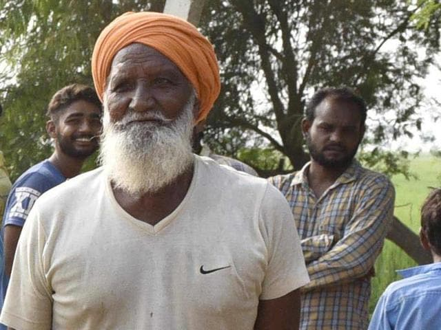 """""""It is good that India has hit back at Pakistan as our innocent soldiers were killed in the Uri attack,"""" 70-year-old Suba Singh said."""