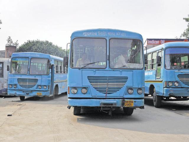 Gurgaon,Haryana Roadways,public transport