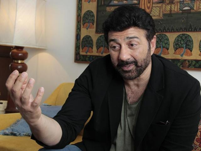 Actor Sunny Deol is all set to launch his son Karan Deol in Bollywood.(Shivam Saxena/HT Photo)