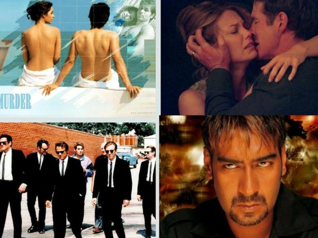 We take a look at some of the Bollywood films that have been accused of copying plots from Hollywood films.