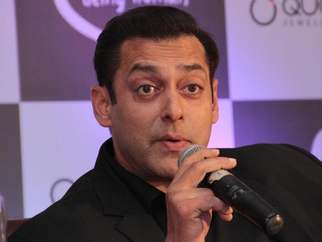 Actor Salman Khan reacts on Uri attacks, surgical strike and banning Pakistani artists.(Shivam Saxena/HT Photo)