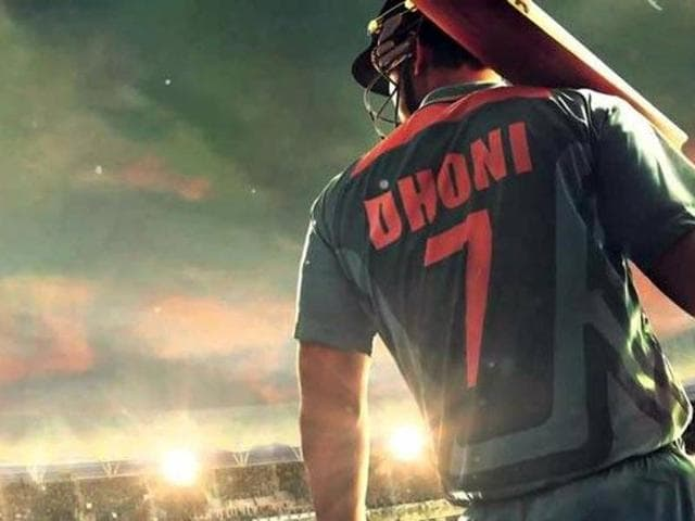 Sushant Singh Rajput plays MSDhoni in the cricketer's biopic.