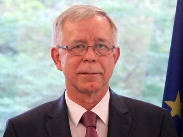 Tomasz Kozlowski, European Union ambassador to India
