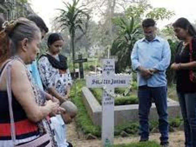 Suzette Jordan then 37 and a mother of two was gang-raped on the night of February 5, 2012 by five men who had offered to drop her home from a night club at Kolkata's posh Park Street.(HT Photo)