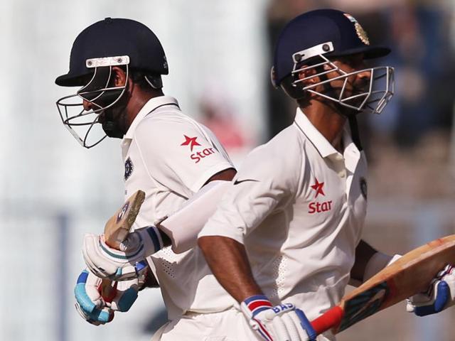 India vs New Zealand,Eden Gardens,Cheteshwar Pujara