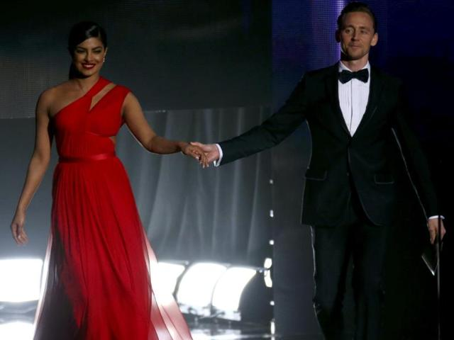 Rumours about Actors Priyanka Chopra and Tom Hiddleston seeing each other refuse to die down.