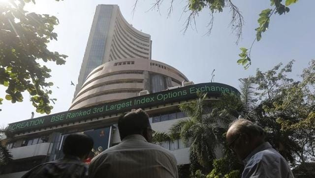 Taking a cue from global downtrend following softer oil prices, the Sensex slipped 216 points.