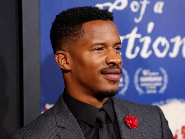 Actor Nate Parker attends the premiere of The Birth of a Nation in Hollywood.