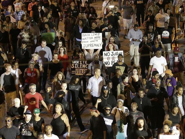 Charlotte police shooting