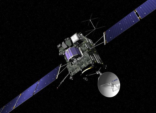 The comet, 67P/Churyumov–Gerasimenko, studied by Europe's orbiting Rosetta spacecraft.