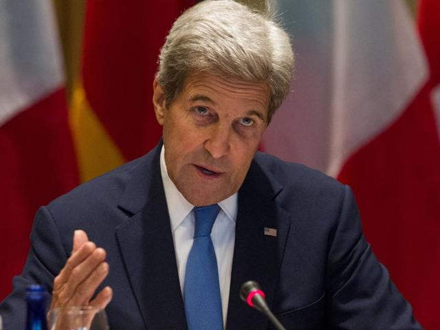US Secretary of State John Kerry admitted that months of diplomacy to end the war had hit a dead-end.