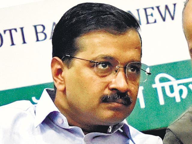 Delhi chief minister Arvind Kejriwal