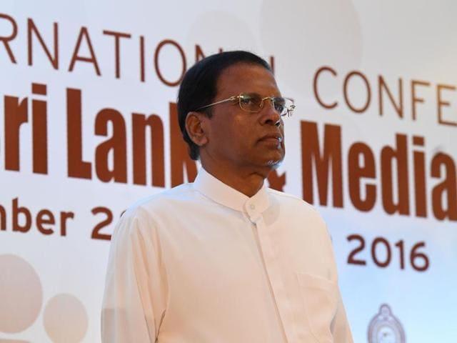 Sri Lanka's President Maithripala Sirisena.(AFP file photo)