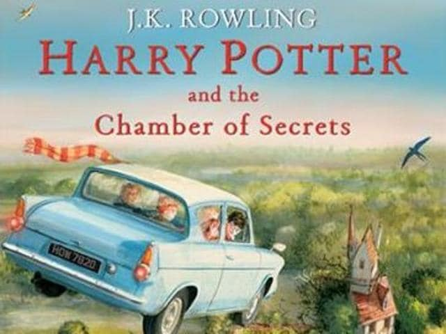 Harry Potter,Harry Potter Illustrated Edition,Harry Potter and the Chamber of Secrets
