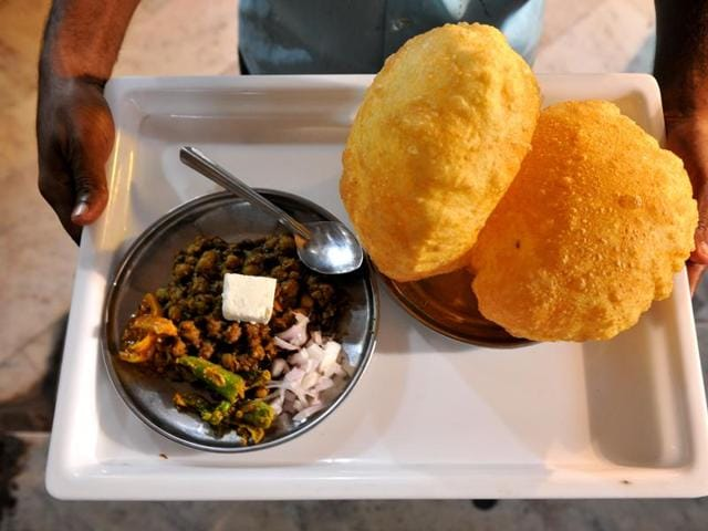 Chhole bhature is among the favourite foods of Delhiites.