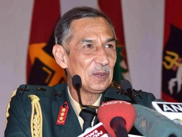 Lt Gen DS Hooda briefed the army chief at the Northern Command Headquarters at Udhampur about the overall security situation along the borders.